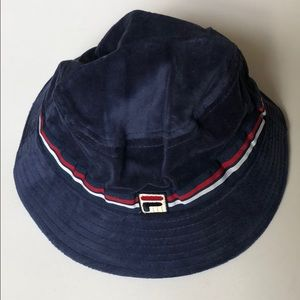 NWT☀️FILA Velour Bucket Hat